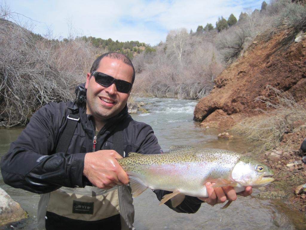 utah fly fishing, fly fishing, utah fishing, trout, orvis